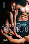 Cover for Menage Bound, my newest 1NS from Decadent Publishing