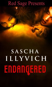 Cover for Endangered, my Red Sage Paranormal Menage Romance