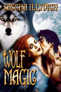 Cover for paranormal erotic romance Wolf Magic