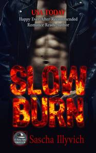 Cover for Slow Burn - A Sexy Spy Thriller